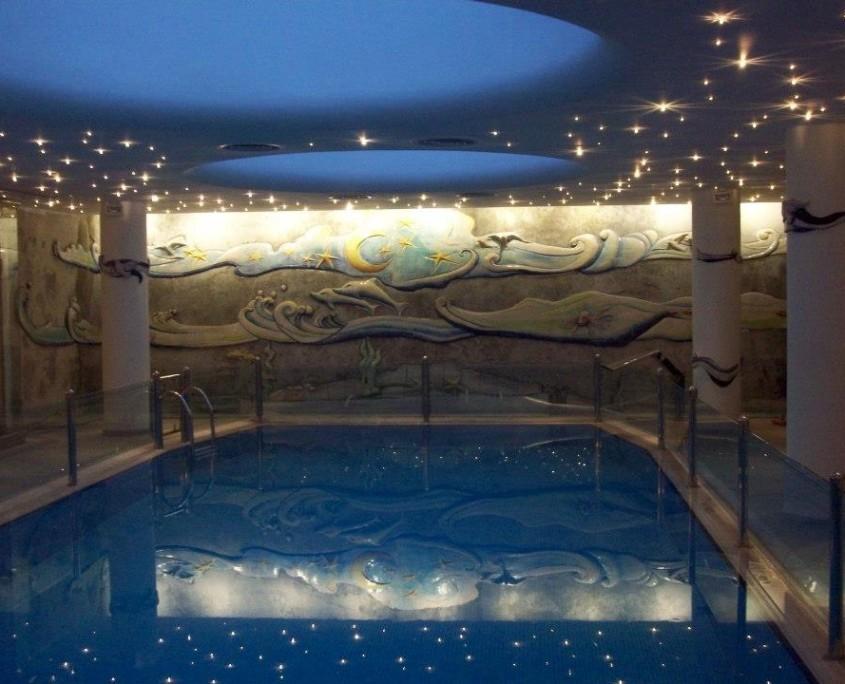 Eren Kalender Otel Havuz Duvarı Seramik Çalışması