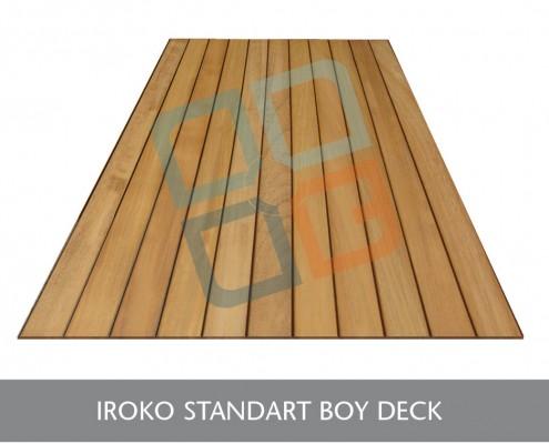 DK-007-Ahşap Sabit Boy Deck