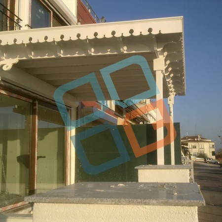 gnc ahşap- butik tasarım ahşap veranda