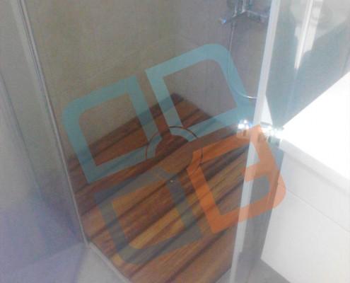 DK-004 İroko-Teak Banyo Deck